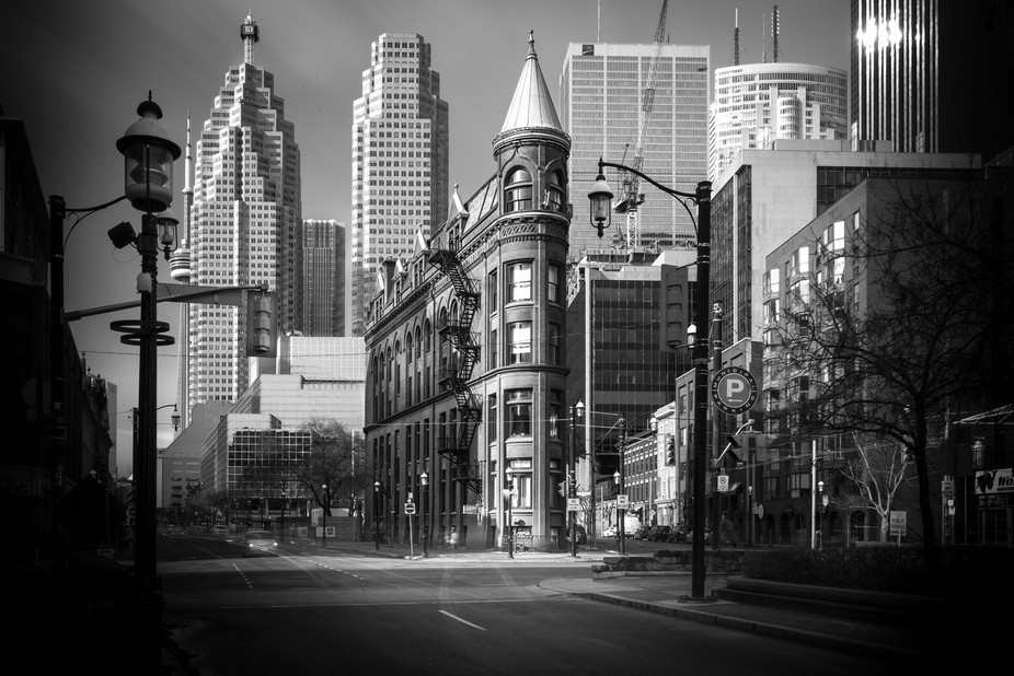 The Flatiron in Toronto