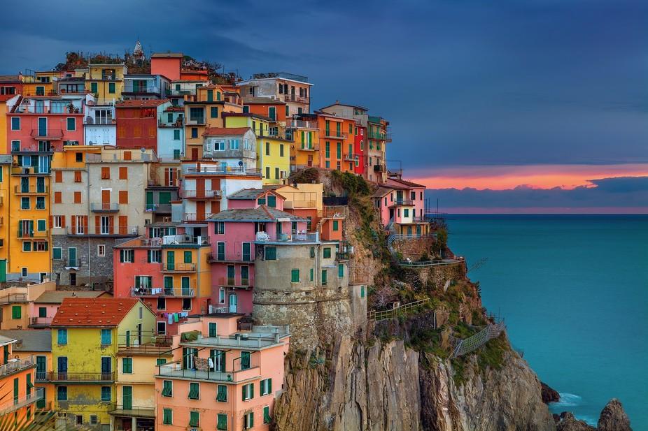 Manarola, Cinque Terre, Italy 2013