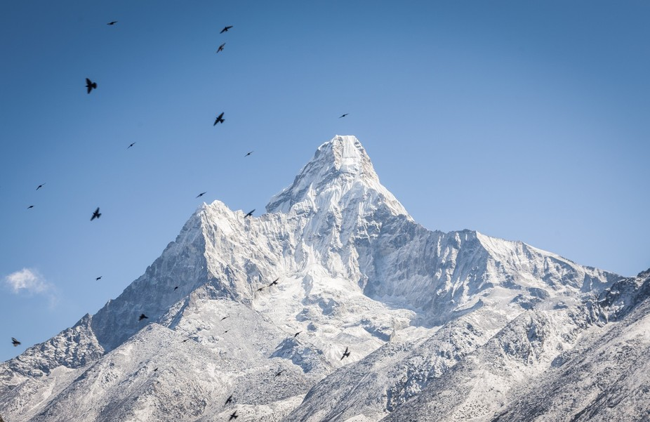I was hiking Everest Base Camp and saw this.