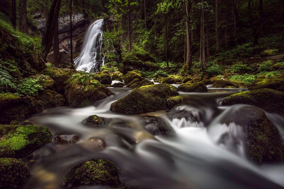 On our last vacation to the alpes (Austria) I was looking for some waterfalls, and since I&#0...