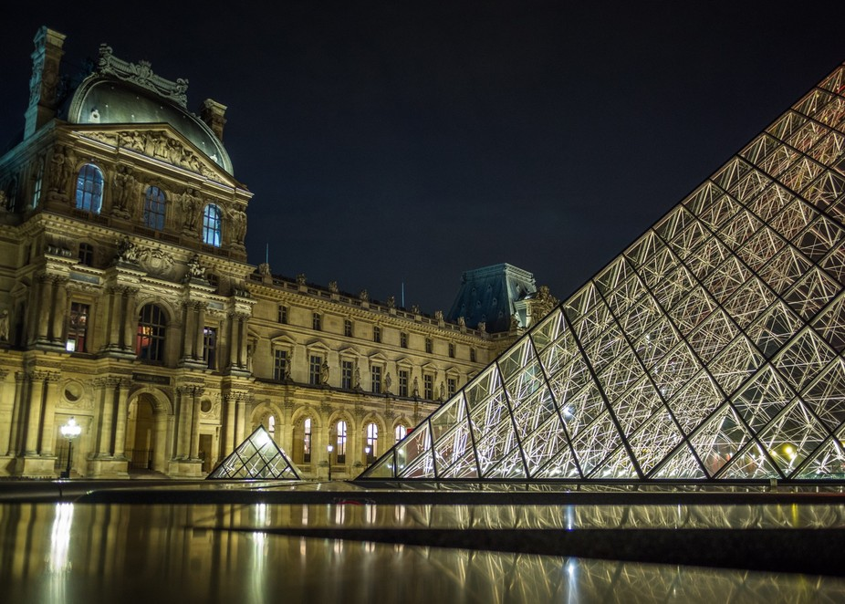 Nights at the Louvre in Paris