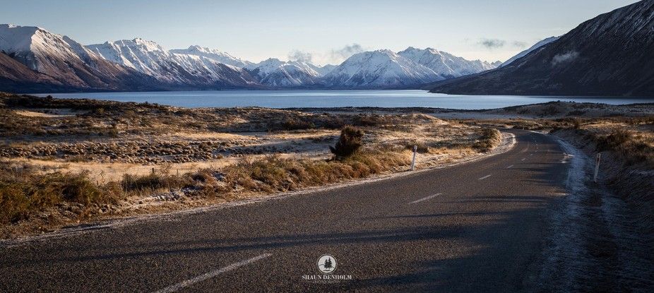 Road to Lake Ohau