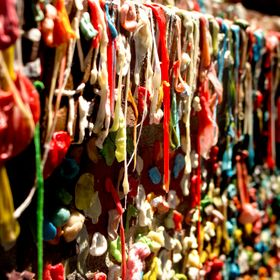 Gum Made of Wall