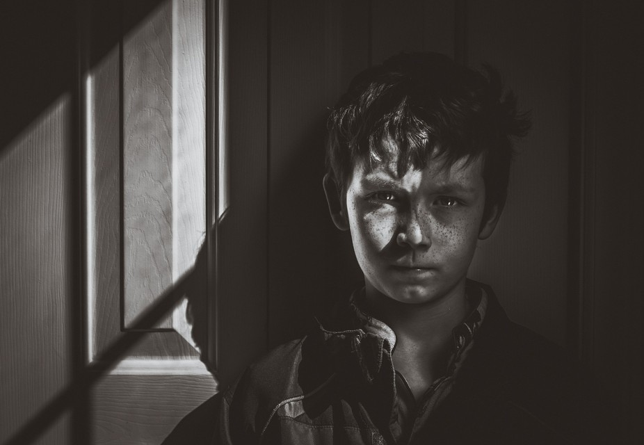 One morning when hanging out with my son I noticed the shadows caused by the sunlight coming in t...