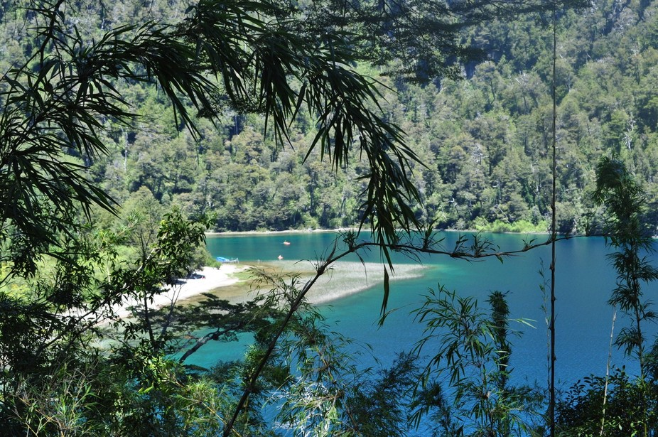 The route of the seven lakes in Argentinian Patagonia is a paradise of blue water and green foliage
