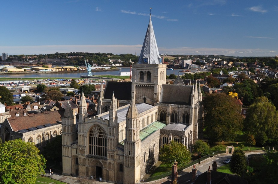 Rochester Cathedral on the Medway