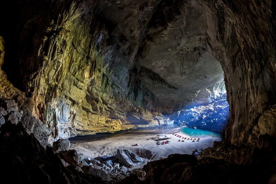 The world 3rd largest cave. Located in Phong Nha Ke Bang, Quang Binh, Vietnam.