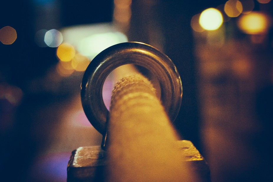 On a night out i found time to play with my camera. When i saw the rope it was my first thought t...