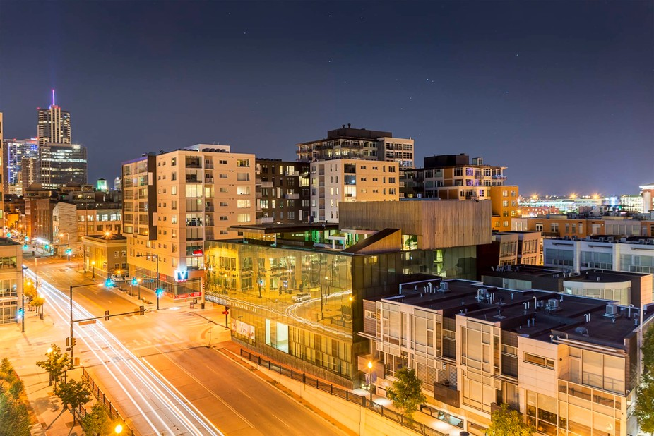 This image was taken as part of an exploration in architecture photography.  Focusing on the refl...