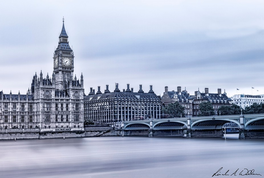 Westminster Bridge & The River Thames