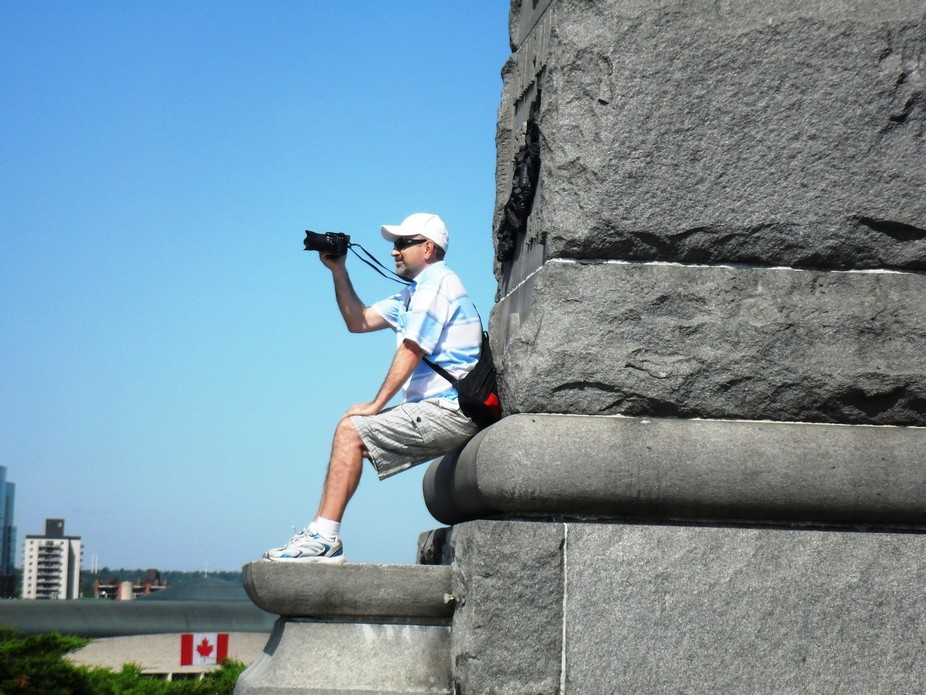 This is an old photo with me at Ottawa, Canada.