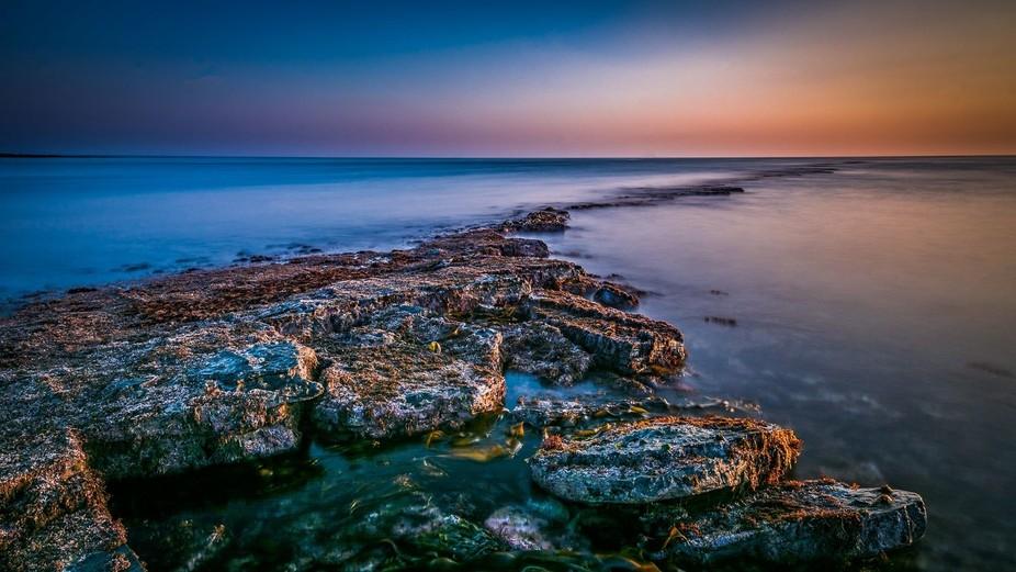 From my project, British Coastline Photographic Project, a piece of British Coast: Kimmeridge Bay...