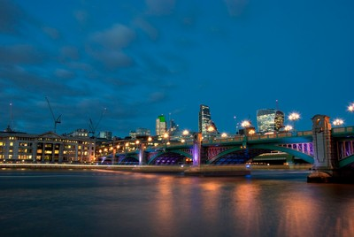 Southwark Bridge, City of London