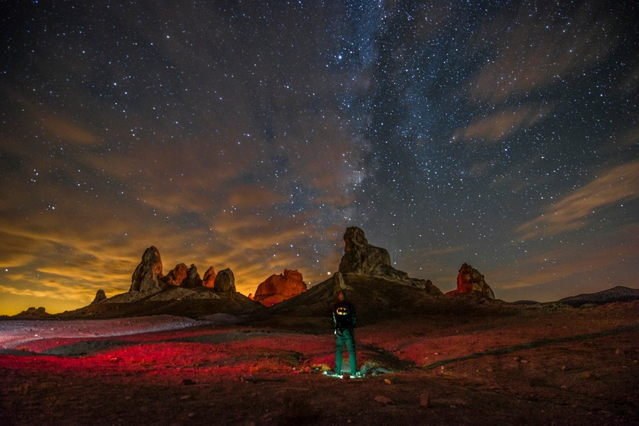 Milky Way and the Pinnacles