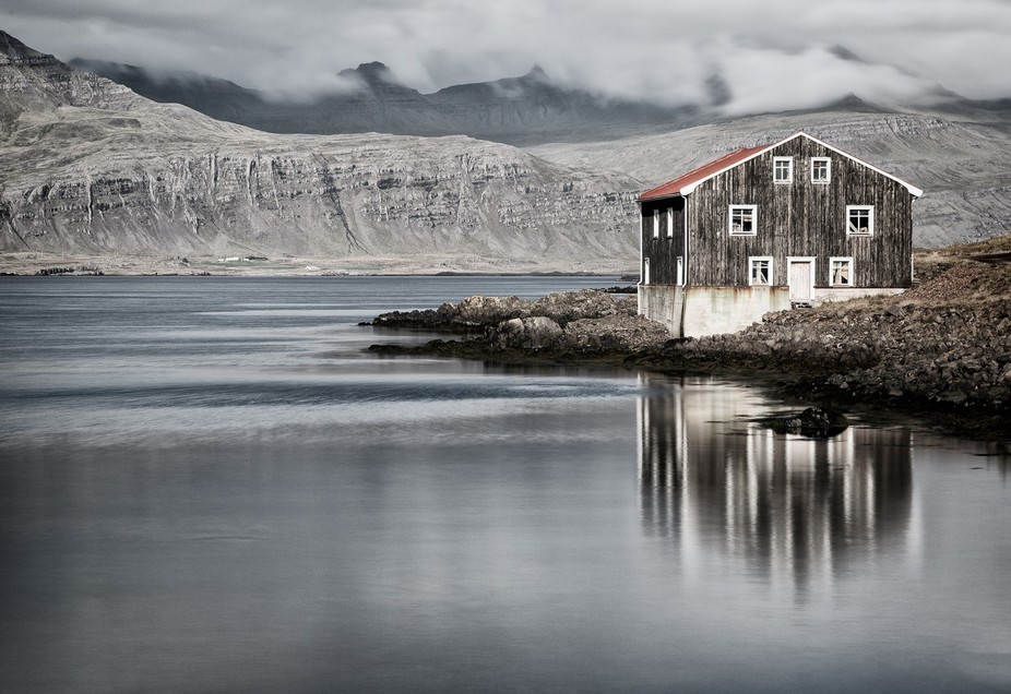 On my travels around Northern Iceland, I came across this disused house. It was full of boat and ...
