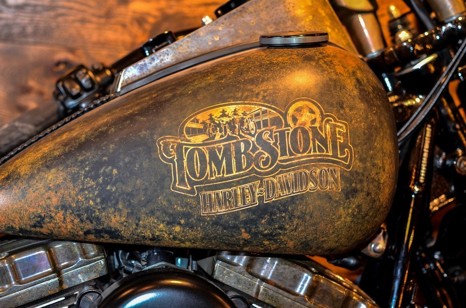 Tombstone Harley Davidson