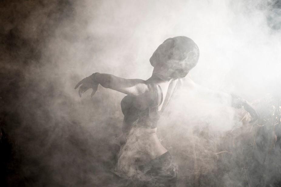 dance with smoke