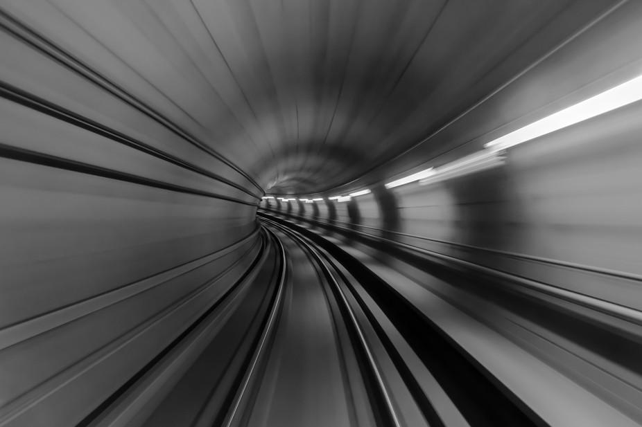 The photo was taken handheld in Copenhagen Metro.