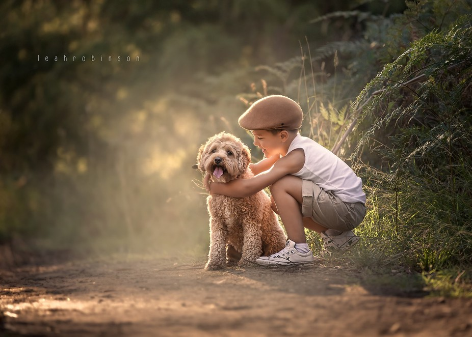 Nothing moves me more than the love between a child and his dog