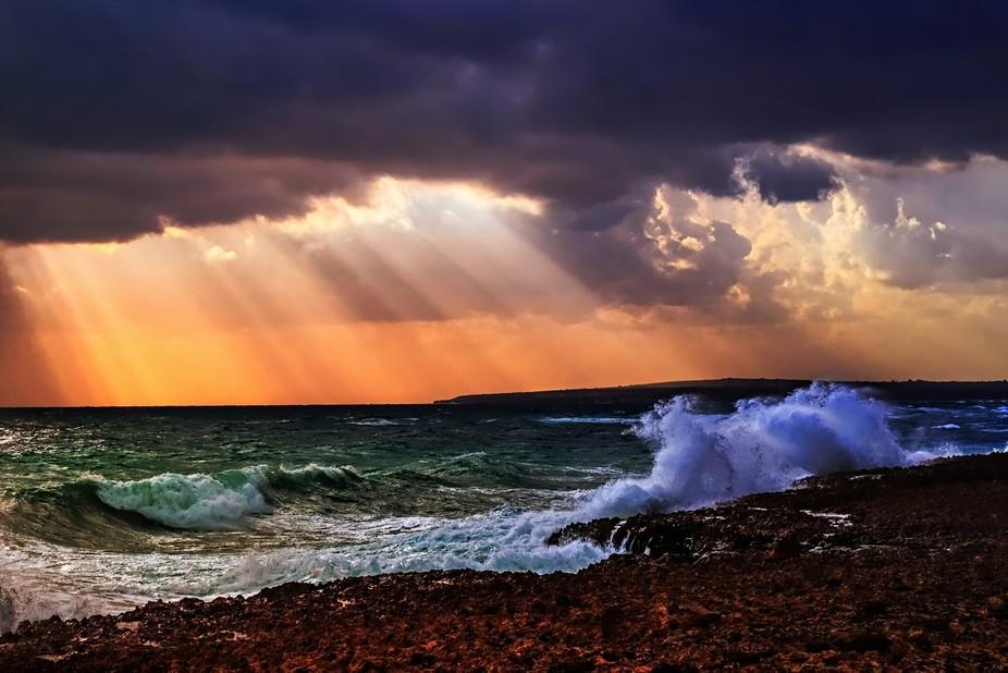 Crashing Waves by Dawn van Doorn.