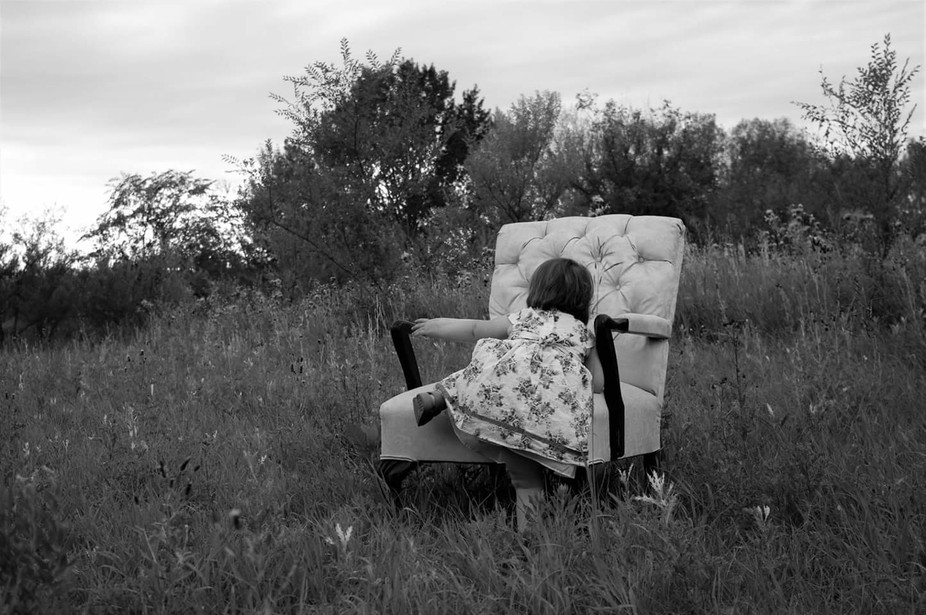 I was able to capture such sweet moments of my niece in a field in the spring.  A random place ma...