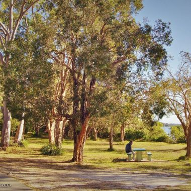 Take a quiet stroll or just take in the scenery. Tin Can Bay, Queensland