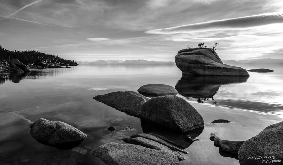 Bonsai Rock, Lake Tahoe 3/17/17