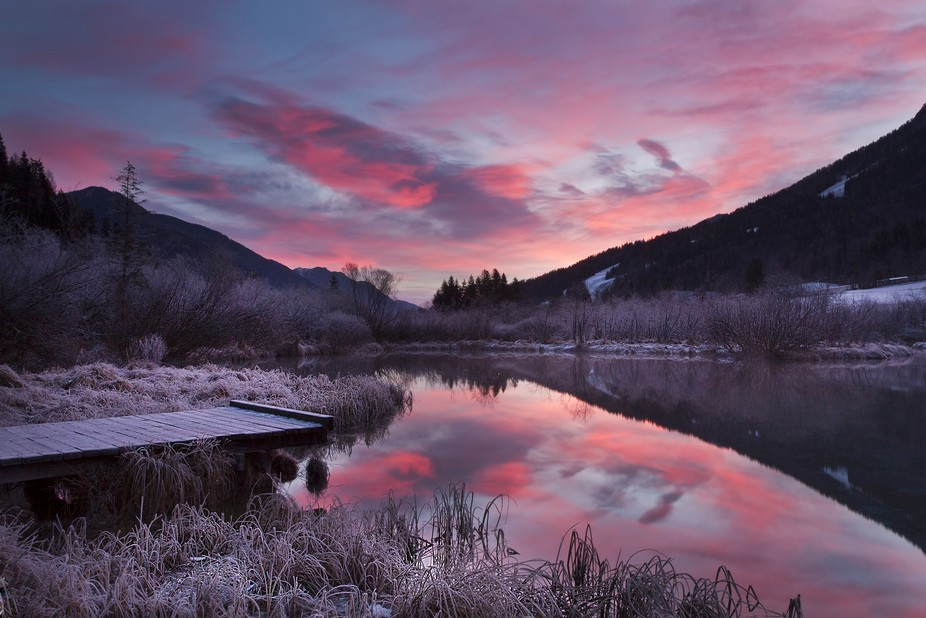 beginning of Sava river, Zelenci, Triglav national park, Slovenia