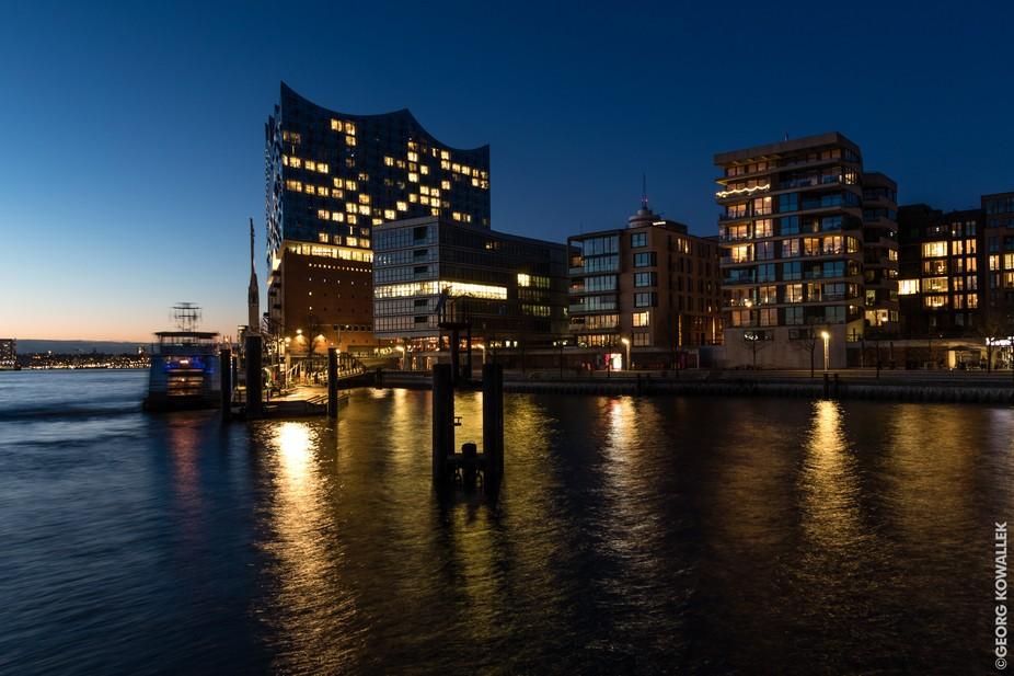 The new philharmonic building in Hamburg