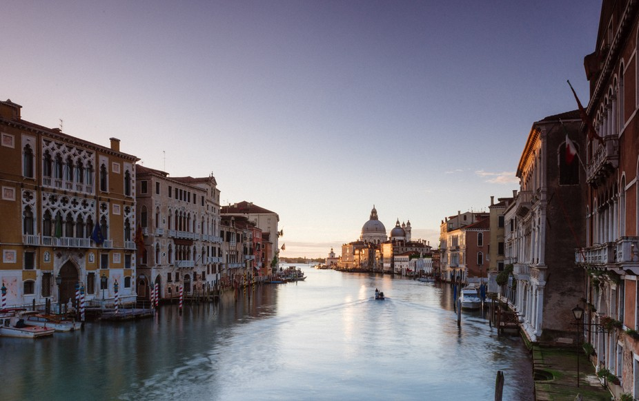 A photograph of the Grand canal back in 2013, I return to Venice next month (it will be my 8th time)