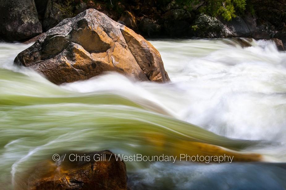 Merced River Gorge Yosemite National Park: April 24th 2017