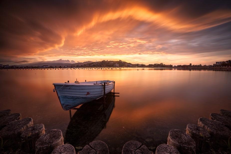 Ganzirri Lake, Messina, Italy