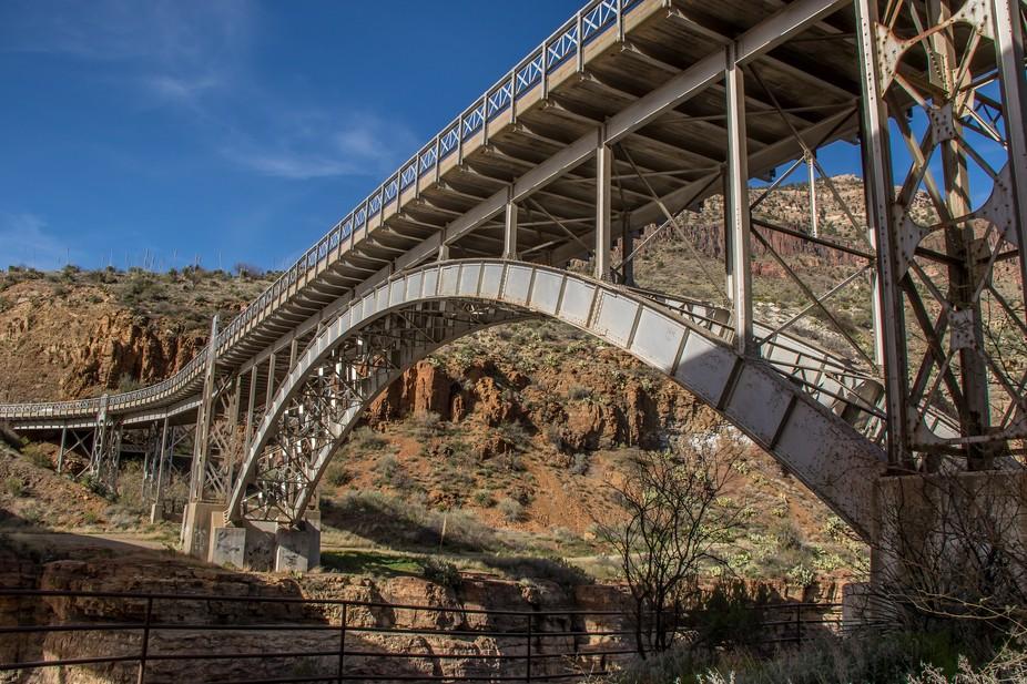 Bridge over Salt River Canyon