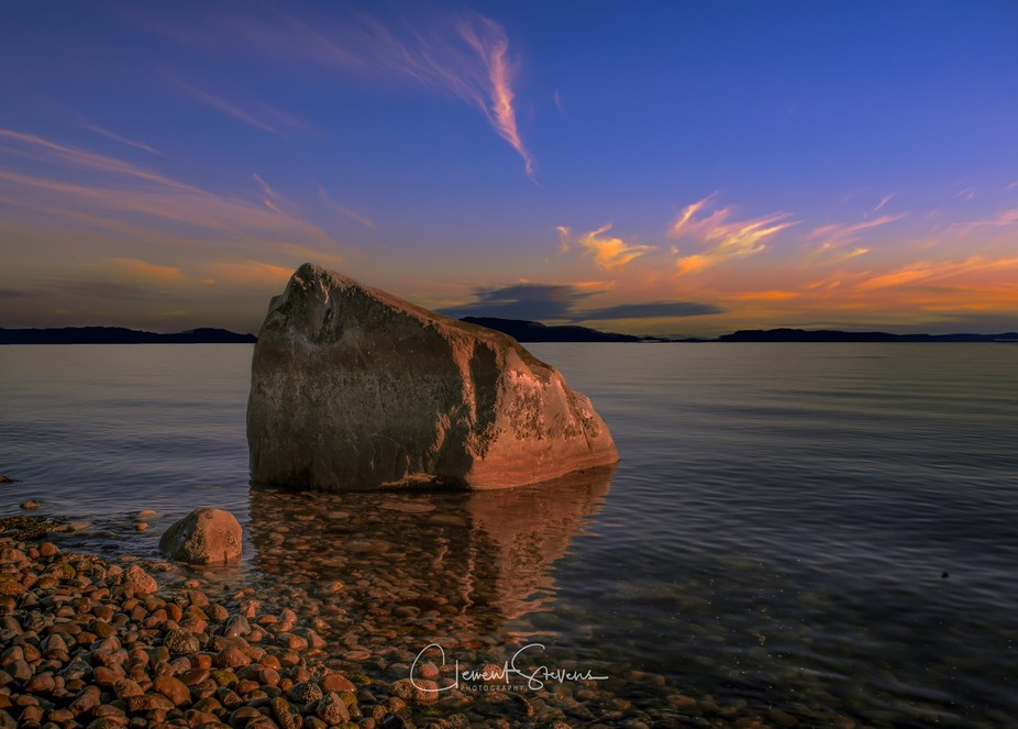 This is not really the shot that I thoughtI was going to shoot at sunset. I was focused in the di...
