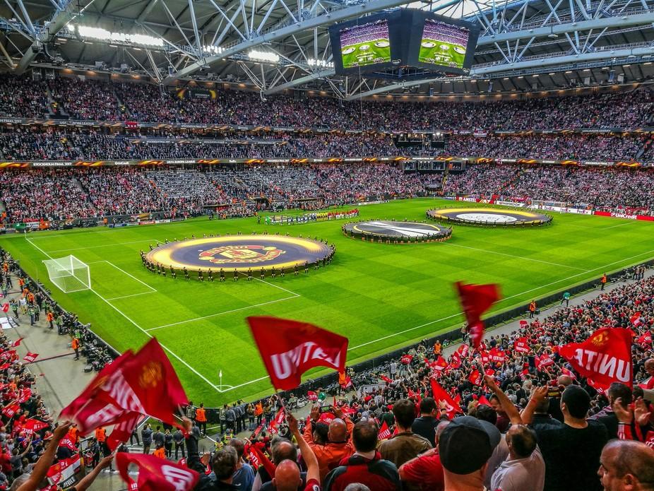 Man Utd in Europa League final, in Friends Aren, Stockholm