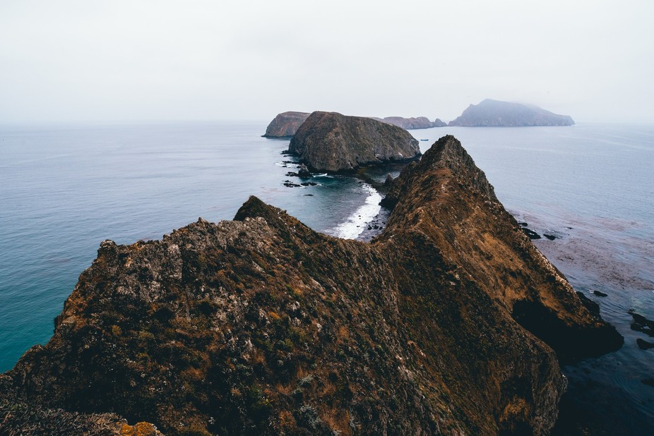 Inspiration Point on Anacapa Island in the Channel Islands National Park  Instagram: @albakerphoto