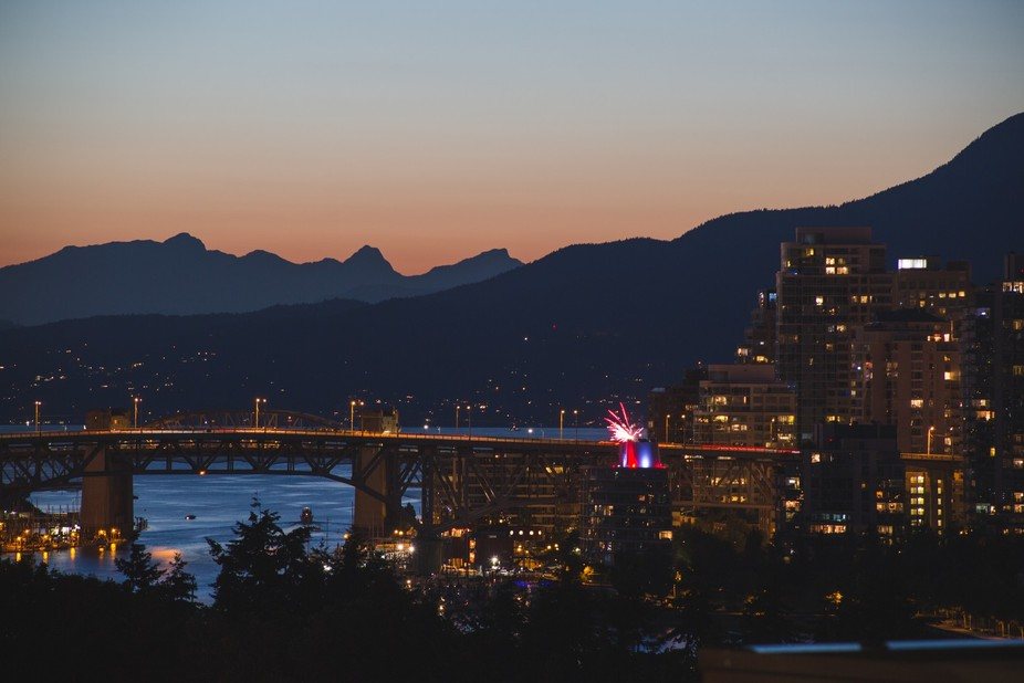 Taken on Canada 150 Day in downtown Vancouver, British Columbia.