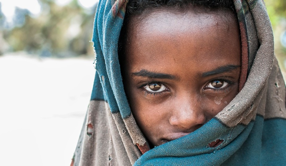 Shot in the hills of Ethiopia near the Blue Nile Falls.