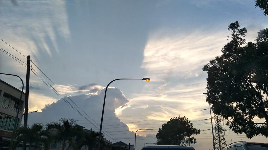 Beautiful cloudy