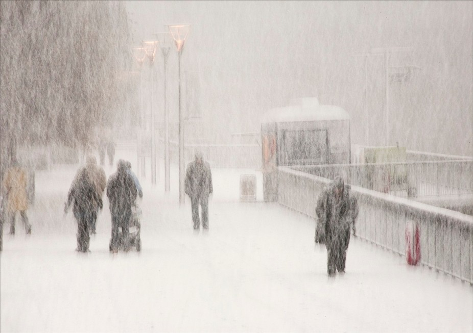London occasionally has snowfall, during 2013 we had 2 days of snow !! An opportunity not to be m...
