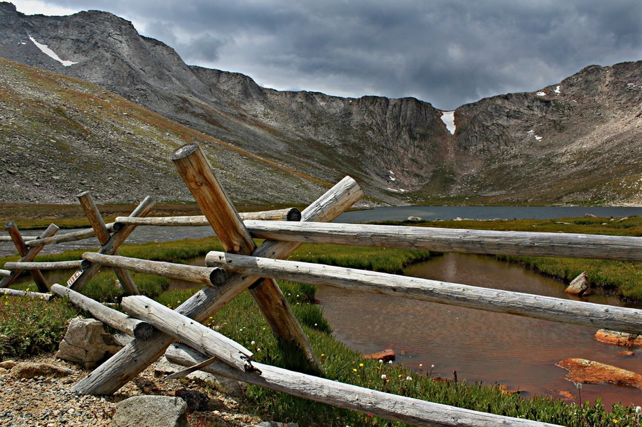 Mount Evans at Summit Lake