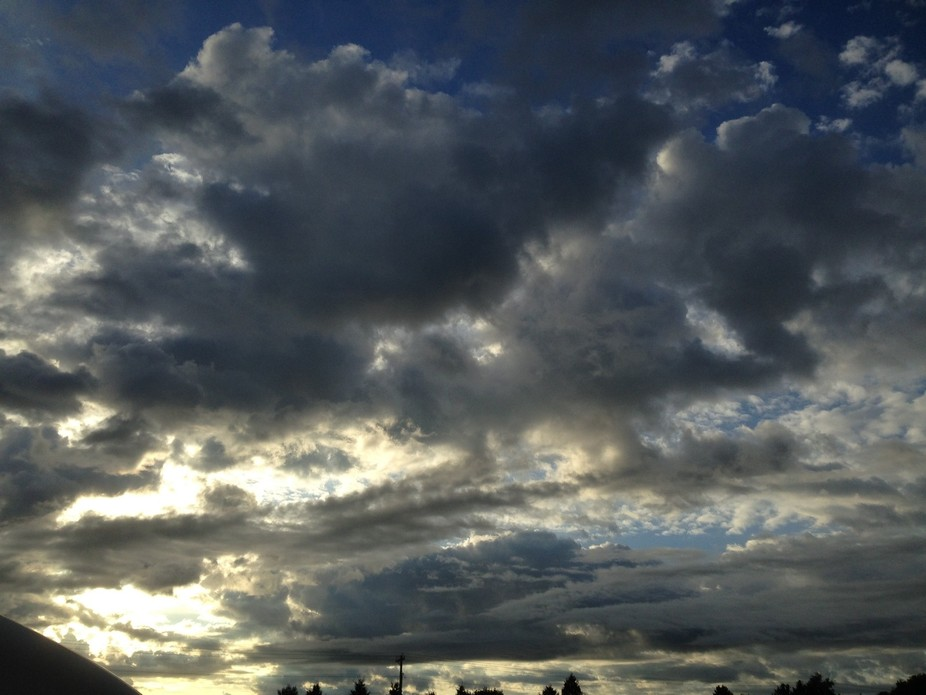Rain clouds 2015 Kansas