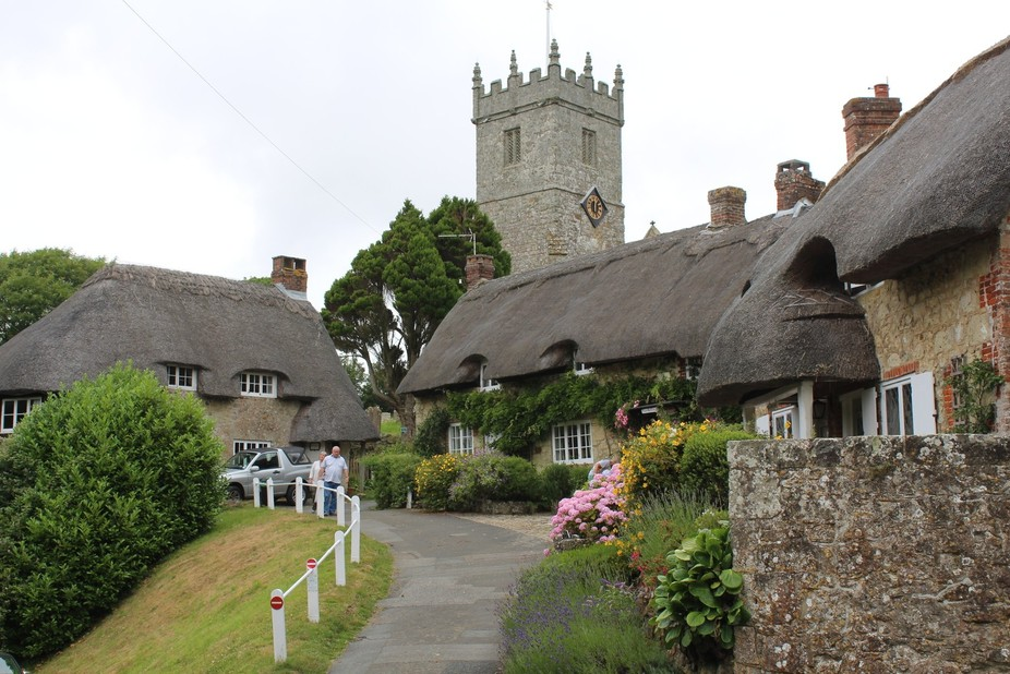 The village is the Chocolate box kind of place. Ancient church thatched cottage and all.