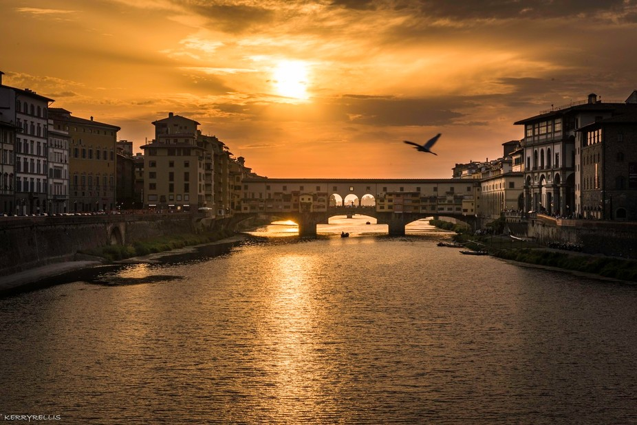 Sunset in Florence 1