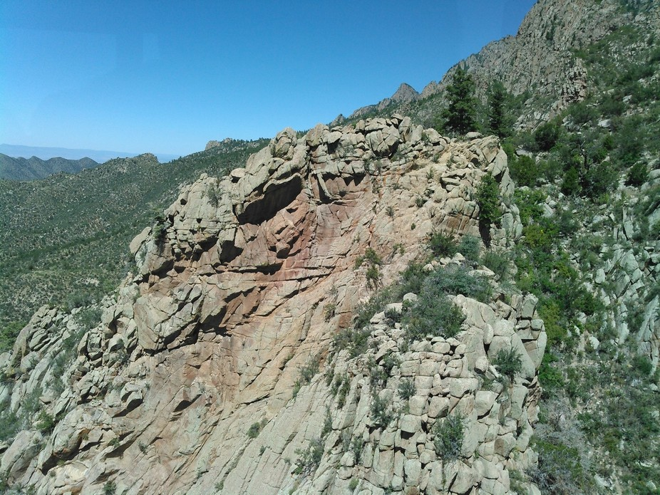 diagonals sandia peak