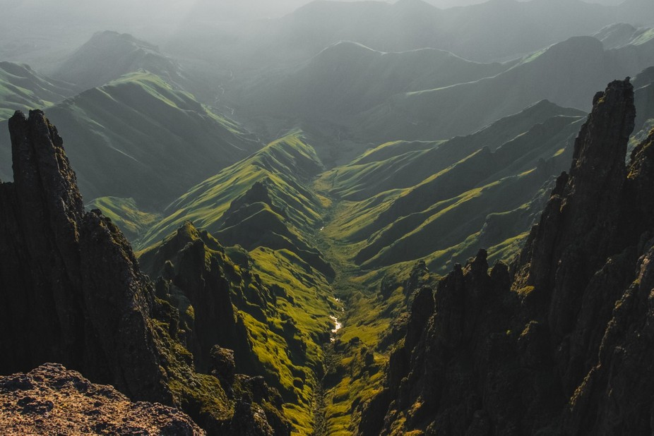 One of the most beautiful landscapes in the world, the Drakensberg in South Africa