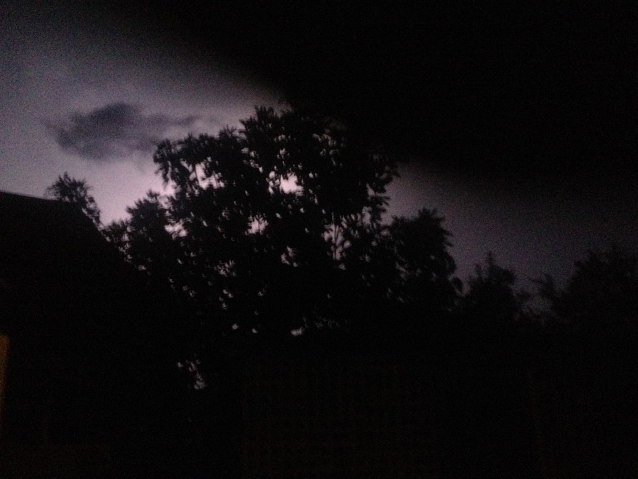 There was a storm brewing when it came over head I just took photos untouched of these awesome co...