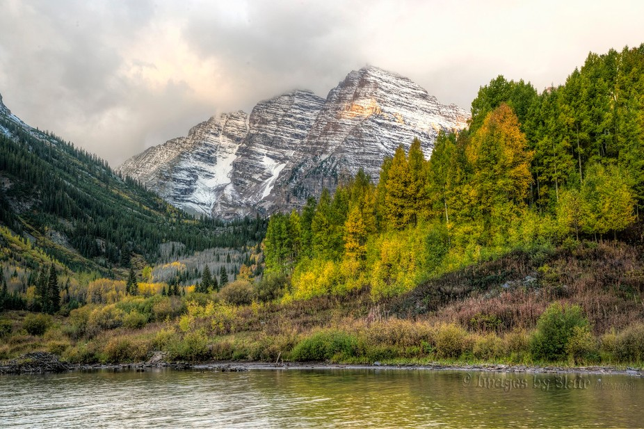 Most of the pretty autumn colors aren't happening this year. The leaves are falling whil...