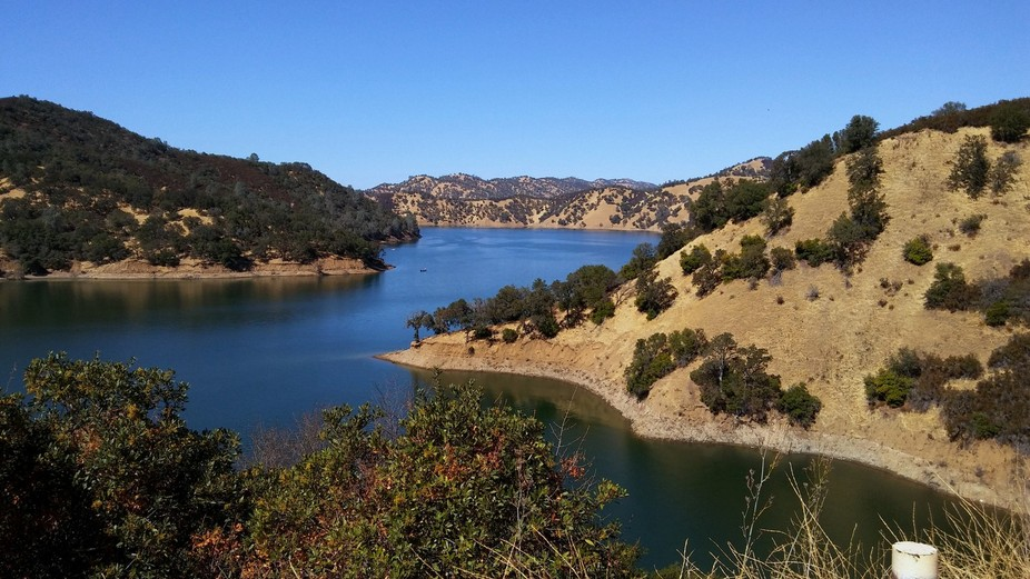 one of the several beautiful lakes in Shasta county, CA