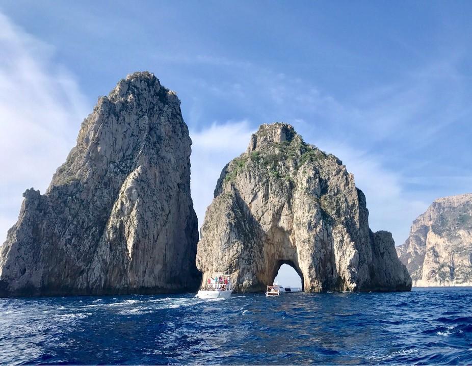 Isle of Capri sea arch